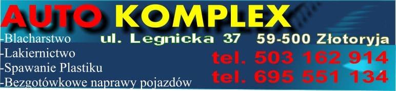Blacharz - Lakiernik - Złotoryja, polerowanie reflektorów,  naprawy powypadkowe Auto Komplex